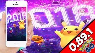 Minado de datos 0.89.1 Pokemon GO- NUEVA PANTALLA de CARGA - Incursiones Legendarias con AR+