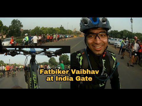 Cyclist reunion ride 1.0  | Delhi NCR | FAT BIKER VAIBHAV vlog