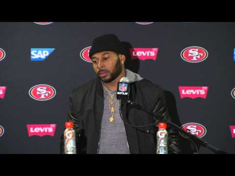 49ers Vs Giants Postgame Press Conference - Antoine Bethea