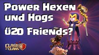 [443] CW Rh 9 10 11 | Power hexen und Hogs | Clash of Clans Deutsch COC