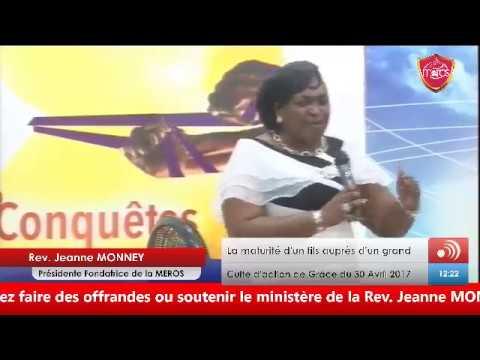 Rev. Jeanne MONNEY - Maturité (acte 5)