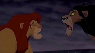 "THE LION KING (1994) Scene: ""I Killed Mufasa!""/Battle Of 'Pride Rock'."