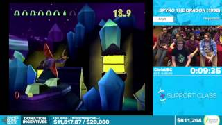 Spyro the Dragon by ChrisLBC in 41:07 - Awesome Games Done Quick 2016 - Part 147