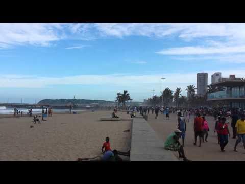 Durban public beach January 2nd