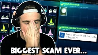 Download lagu I LOST MY WHITE ZOMBAS My Biggest Fan SCAMS Me In Rocket League MP3