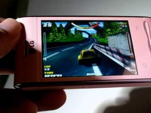 LG GT540 game testing