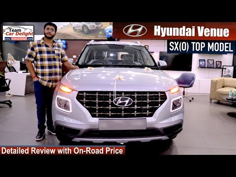 Hyundai Venue SXO Top Model Detailed Review with On Road Price | Venue Top Model