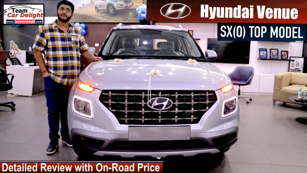 hyundai venue sxo top model detailed review with on road price