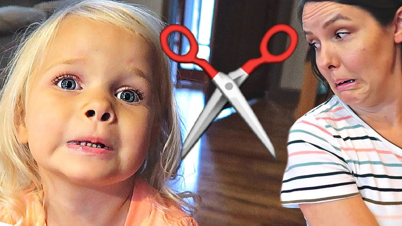 😱 3 Year-Old HAIR CUT! ✂️
