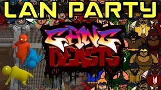 LAN Party Fights to the Death - Gang Beasts