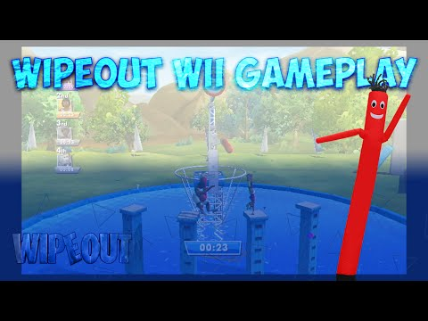 WACKY WAVING INFLATABLE ARM FLAILING TUBE MAN! - Wipeout For Wii Play The Show