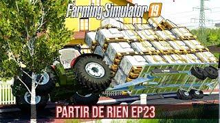 PARTIR DE RIEN 3 #23 | ACCIDENT + NOUVELLE MOISSONNEUSE ! (Farming Simulator 19)