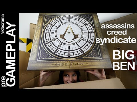 Assassins Creed Syndicate BIG BEN Collector´s case ...