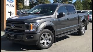 2018 Ford F-150 XLT Sport EcoBoost SuperCrew Review| Island Ford
