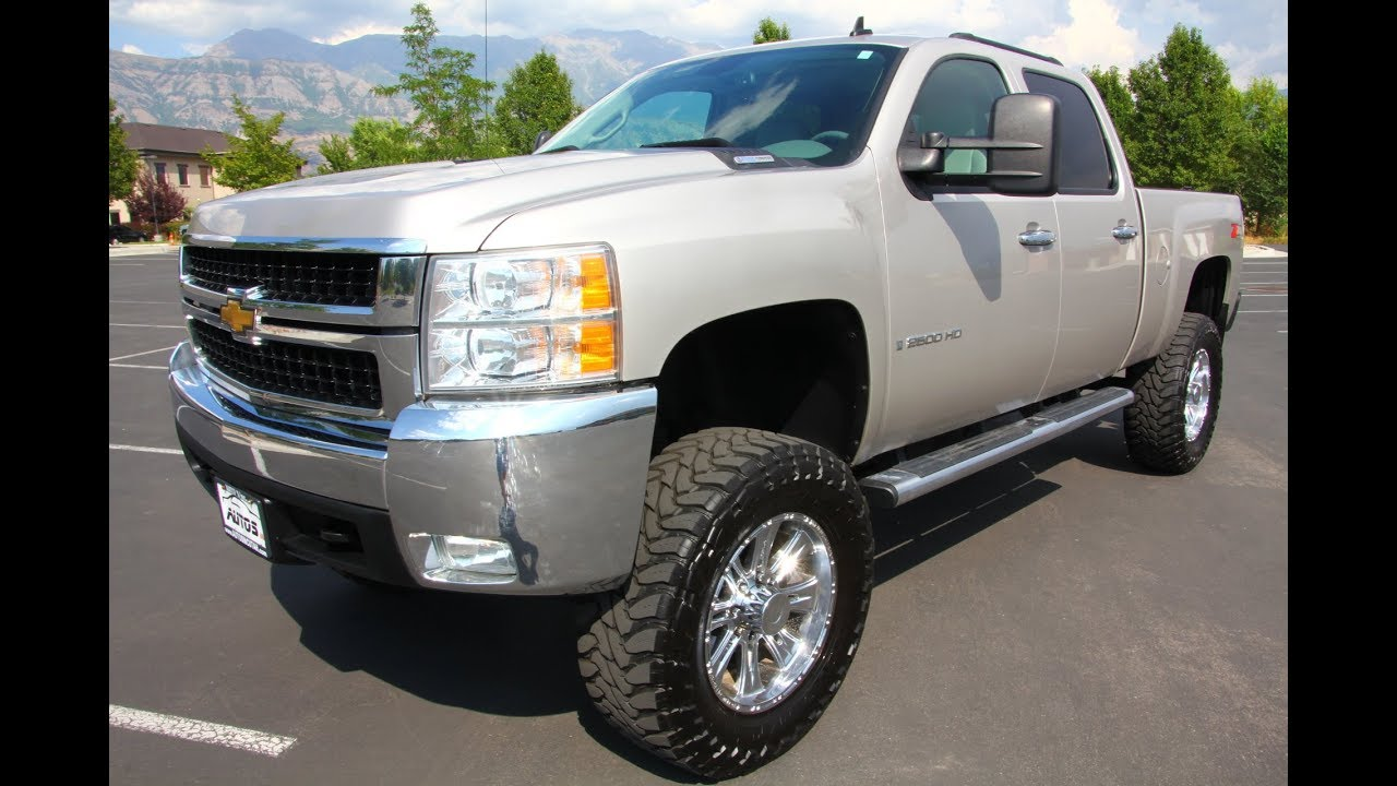 2008 chevy silverado 2500hd 4x4 ltz z71 duramax diesel. Black Bedroom Furniture Sets. Home Design Ideas
