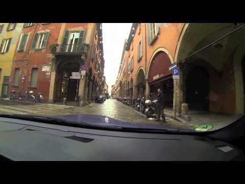 Driving in Bologna