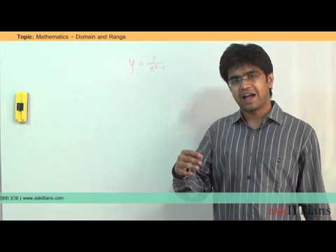 Domain, Codomain and Range | Mathematics | Class 11 | IIT JEE Main + Advanced | askIITians