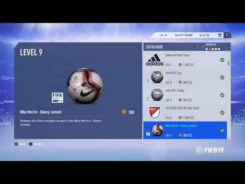 FIFA19 UNLOCKING all BALLS + Adidas ALL STAR + MLS ALL STAR ...