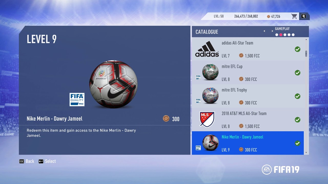 FIFA19 UNLOCKING all BALLS + Adidas ALL STAR + MLS ALL STAR Teams