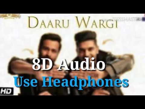 Daru Wargi - Guru Randhawa | 8D Audio | Emraan Hasmi |