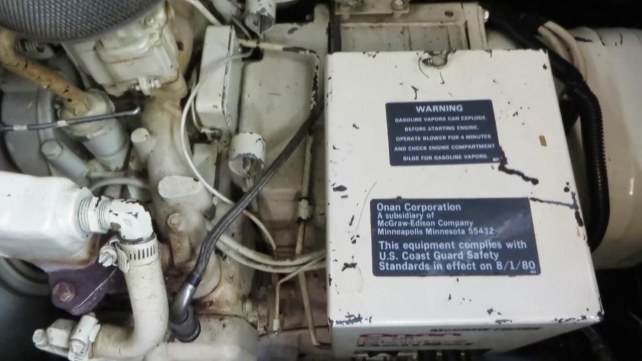 Part vintage homelite generator