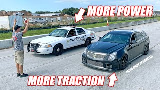 CTS-V Wagon vs. GT500 Swapped Cop Car! + Ruby is Getting a NEW ENGINE!