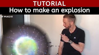 Tutorial How To Make an explosion Magix Movie Edit Pro
