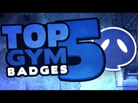 Top 5 Pokemon Gym Badges