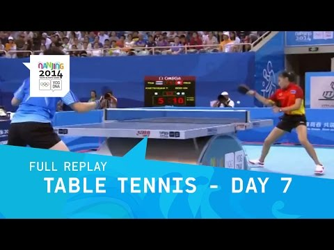 Table Tennis - Mixed Teams Medal Matches | Full Replay | Nan