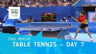 Table Tennis - Mixed Teams Medal Matches | Full Replay | Nanjing 2014 Youth Olympic Games