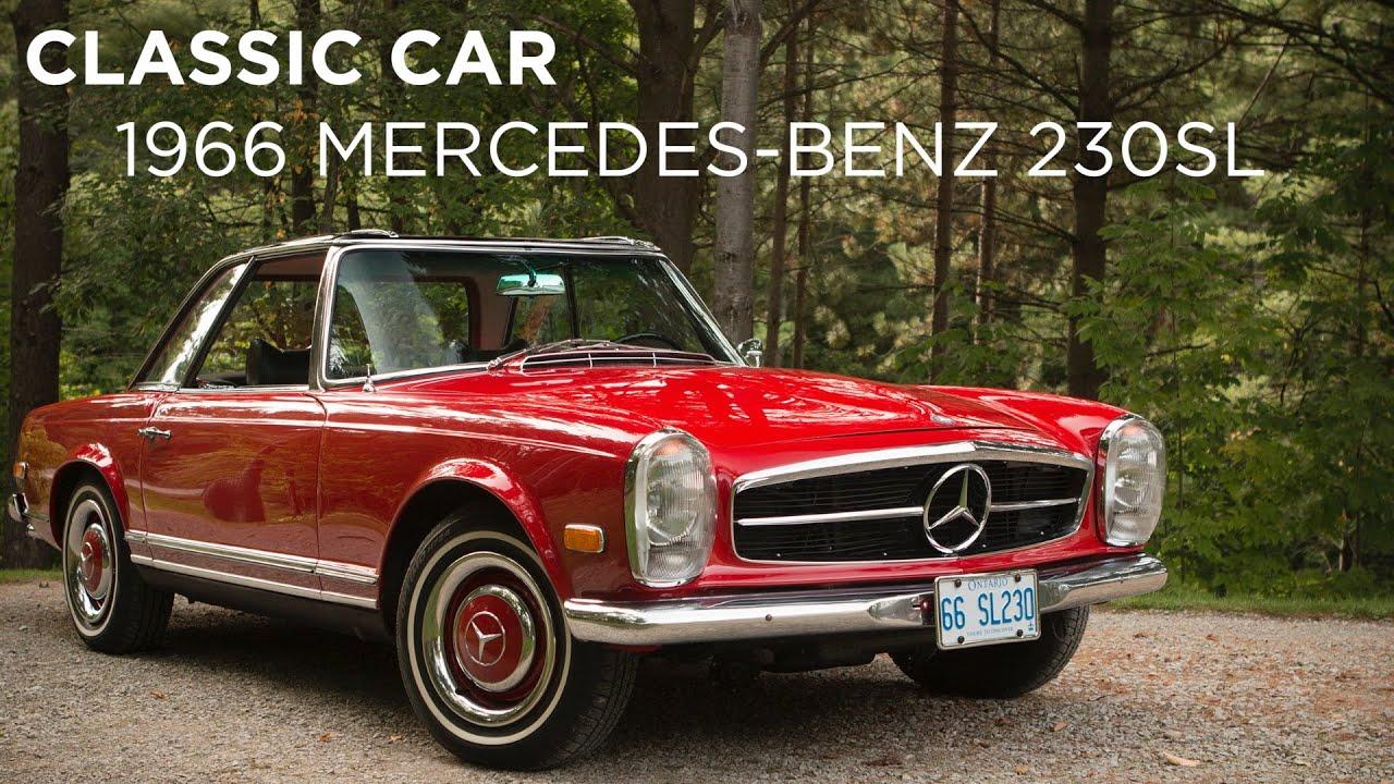 Classic car 1966 mercedes benz 230sl youtube for 1966 mercedes benz 230sl