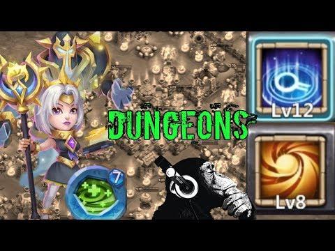 Espirita | Sacred Light | 12 Skill | Dungeons | Castle Clash