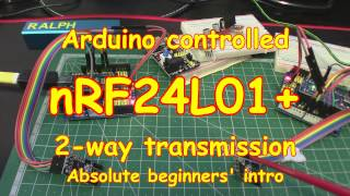 #73 nRF24L01 Send (and receive) data with your Arduino!