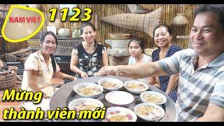 Nấu chè lủm chủm - Mừng thành viên mới từ xa - Nam Việt 1123