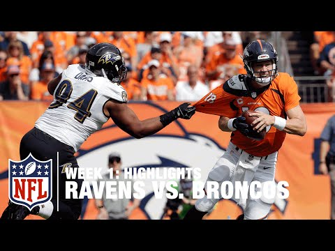 Ravens vs. Broncos | Week 1 Highlights | NFL