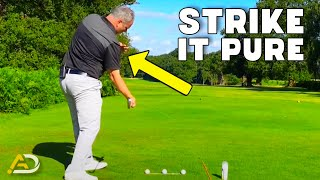 How To Strike Your Irons Pure  Trail Shoulder