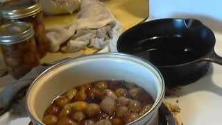 Making  Fig Preserves