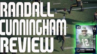 93 LEGEND RANDALL CUNNINGHAM REVIEW | MADDEN 18 PLAYER REVIEW
