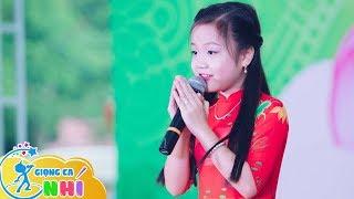 Ca nương 7 tuổi Tú Thanh hát Lạy Phật Quan Âm khiến hàng ngàn phật tử xúc động