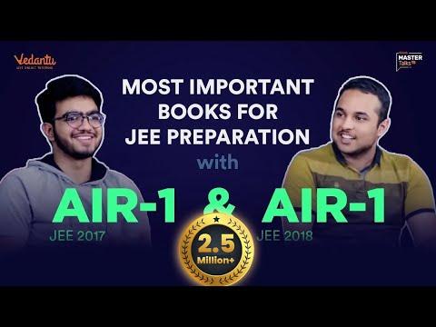 Important Books for JEE Main & Advanced Preparation | Sarvesh & Pranav's Tips to Crack IIT JEE 2019