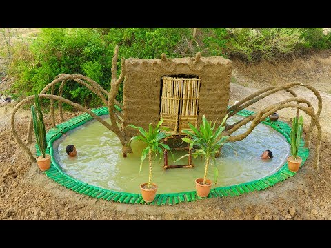 Build Crab House And Build Swimming Pool Under Crab House