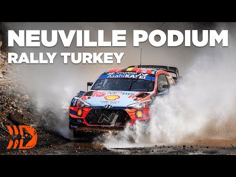 Neuville Lands Podium At Rally Turkey 2020