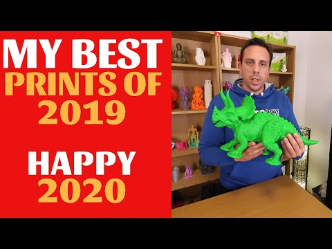 My best 3d prints of 2019