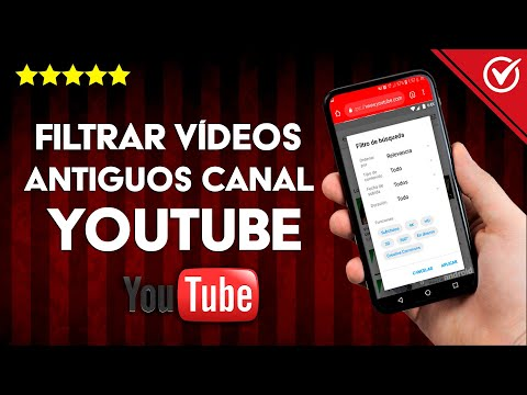 Cómo Buscar o Filtrar Vídeos Antiguos o Recientes en un Canal de YouTube