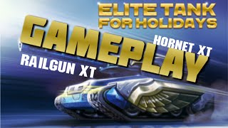 Railgun XT, Hornet XT and Frost GAMEPLAY | G.o.d-mode_ON | [Tanki Online]
