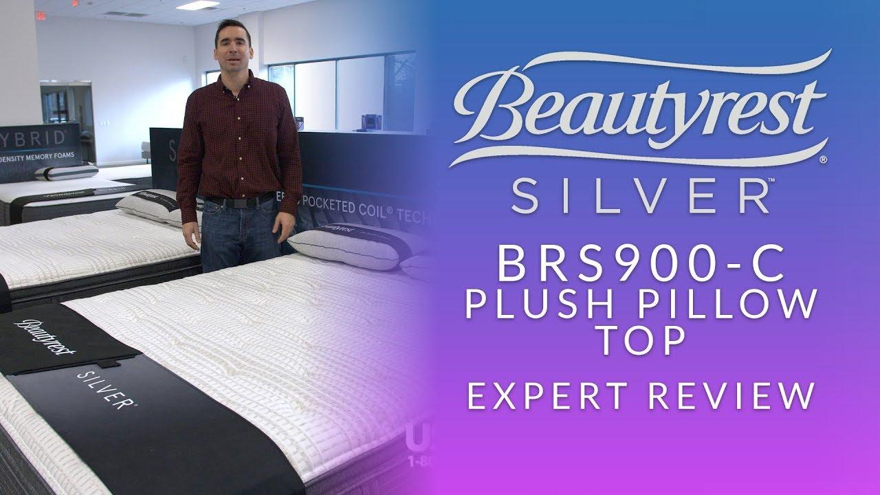beautyrest silver level 2 brs900 c plush pillow top mattress expert review