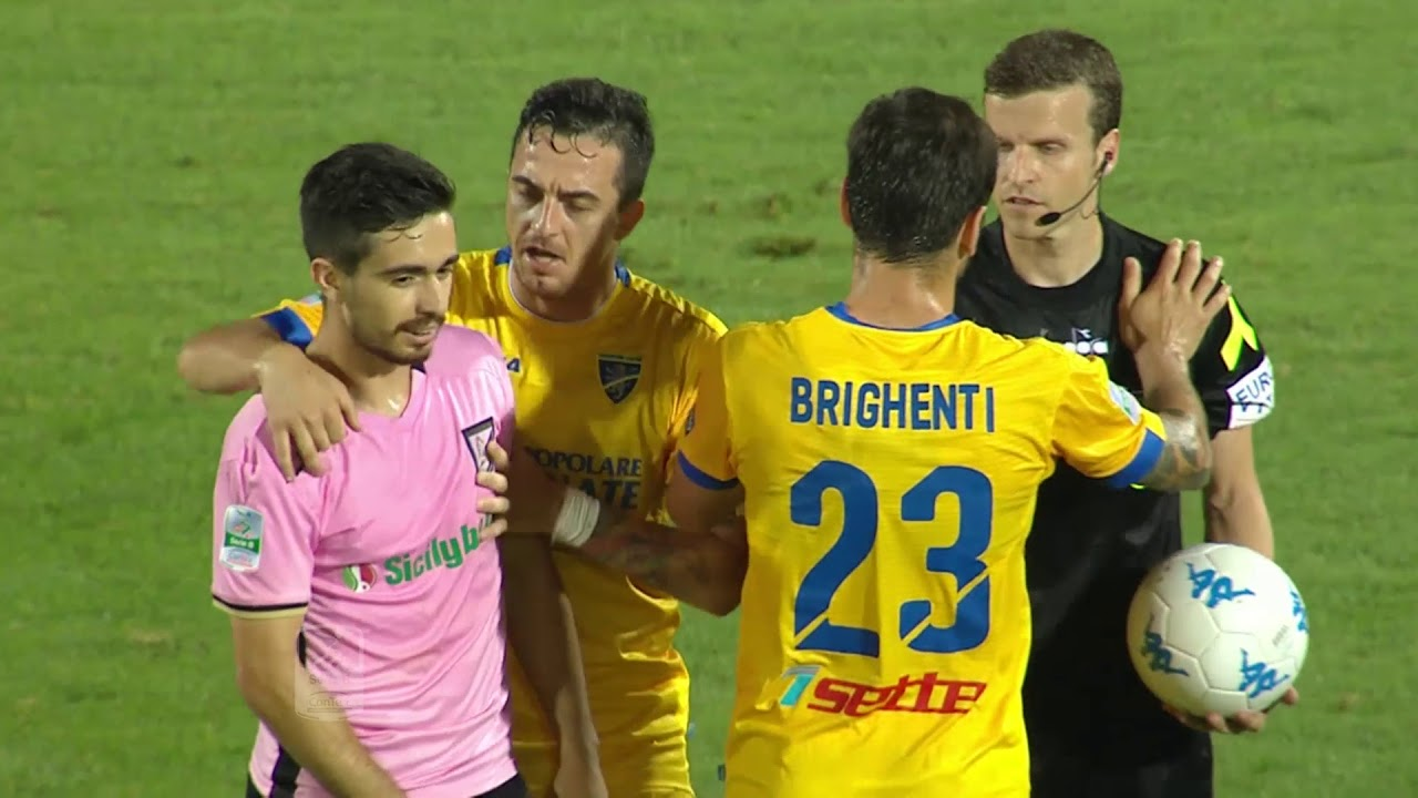 Finale Di Ritorno Playoff Frosinone Palermo 2 0 Youtube