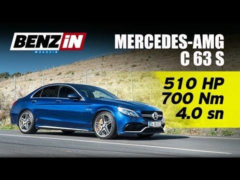 Mercedes AMG C 63 S | 510 hp biturbo V8 | Launch Control