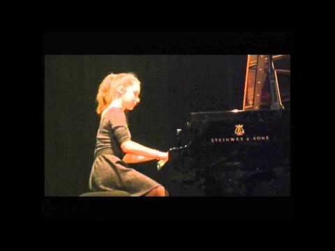 Juliette Journaux joue Appassionata de Beethoven Mvt 1