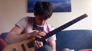 Eric Clapton 'Tears in Heaven' for Solo Bass -- Zander Zon